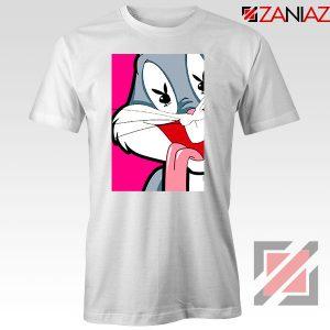 Bugs Bunny Cartoon Playboy Love White Tshirt