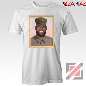 China King Lebron James Best White Tshirt