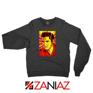Elvis Presley Best Rock n Roll Black Sweatshirt