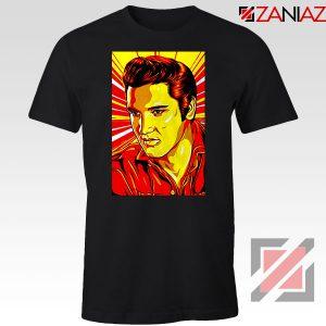 Elvis Presley Nice Rock n Roll Black Tshirt