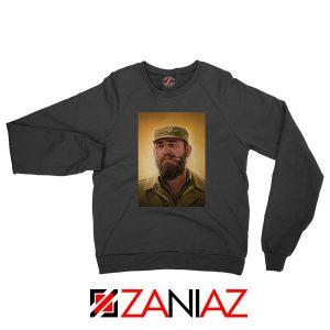 Fidel Castro Politician Best Black Sweatshirt
