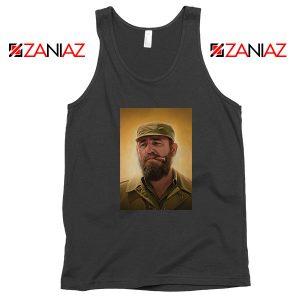 Fidel Castro Politician Best Black Tank Tops
