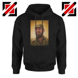 Fidel Castro Politician Nice Black Hoodie