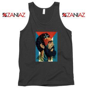 Fidel Castro Revolutionalist Black Tank Top