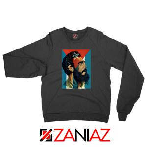 Fidel Castro Revolutionalist Nice Black Sweatshirt