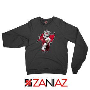 Groot Tampa Bay Buccaneers Black Sweatshirt