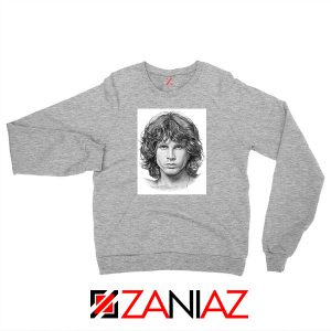 Jim Morrison Band The Doors Grey Sweatshirt