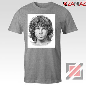 Jim Morrison Band The Doors Nice Grey Tshirt