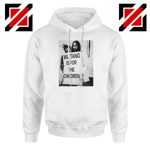 John Lennon For The Children White Hoodie