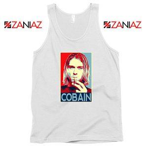 Kurt Cobain Legend Singer Best White Tank Top