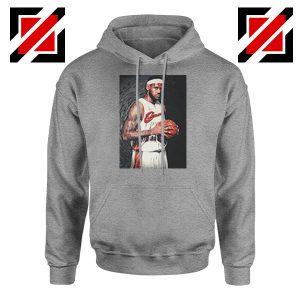 Lebron James Baseball Art Best Sport Grey Hoodie