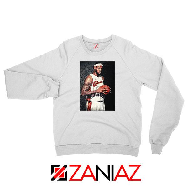 Lebron James Baseball Art Best Sweatshirt