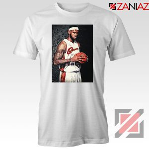 Lebron James Baseball Art Nice Tshirt