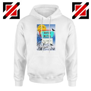 Motel Bates TV Series Cheap White Hoodie