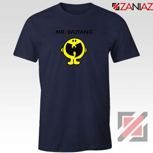 Mr Wutang American Hip Hop Navy Blue Tshirt