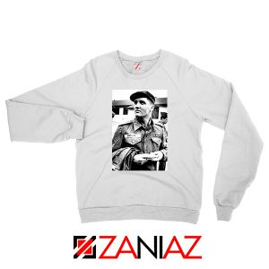 New Elvis Presley US Army White Sweatshirt