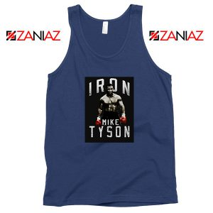 Nice Iron Mike Boxer MMA Navy Blue Tank Top