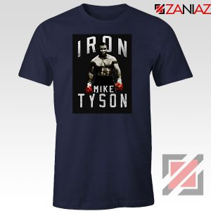 Nice Iron Mike Boxer MMA New Navy Blue Tshirt