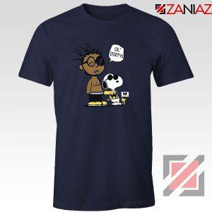 Ol Dirty Peanuts Cartoon Best Navy Blue Tshirt