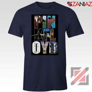 Pink Floyd Rock Fashion Navy Blue Tshirt