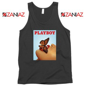 Playboy Girl Butterfly Lip Sexy Tank Top