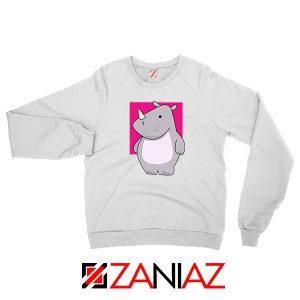 Team Building Rhino Mascot Sweatshirt