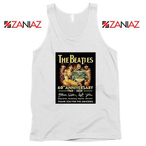 The Beatles Band 60th Anniversary Tank Top