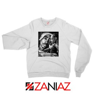2PAC Snoop Doggy Rap White Sweatshirt