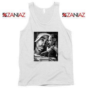2PAC Snoop Doggy Rap White Tank Top