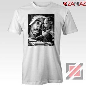 2PAC Snoop Doggy Rap White Tshirt