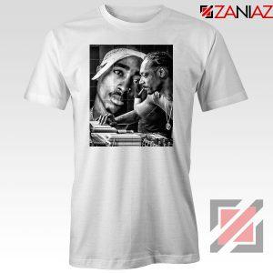 2PAC Snoop Doggy Rap White Tshirt