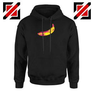 Andy Warhol Banana Art Black Hoodie