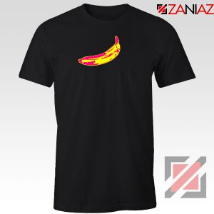 Andy Warhol Banana Art Black Tshirt