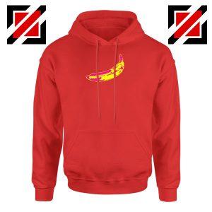 Andy Warhol Banana Art Red Hoodie