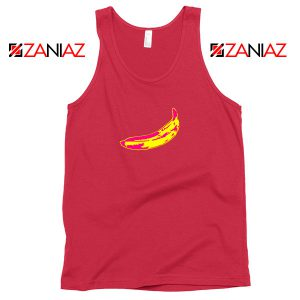 Andy Warhol Banana Art Red Tank Top