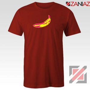 Andy Warhol Banana Art Red Tshirt