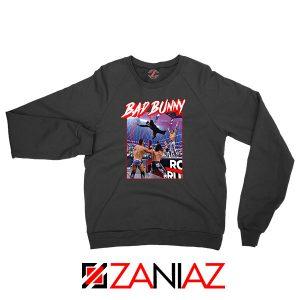 Bad Bunny Rapper Vintage WWE Sweatshirt