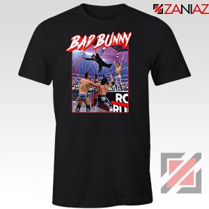 Bad Bunny Rapper Vintage WWE Tshirt