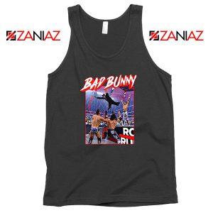 Bad Bunny Rapper WWE Tank Top