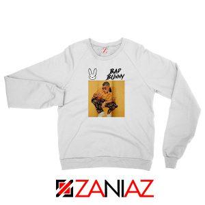 Bad Bunny Yellow Rap Sweatshirt
