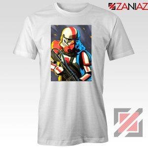 Captain Phasma Shiny Stormtrooper Tshirt