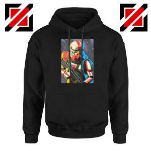 Captain Phasma Stormtrooper Black Hoodie