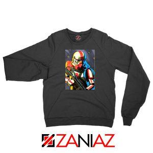 Captain Phasma Stormtrooper Black Sweatshirt