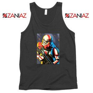 Captain Phasma Stormtrooper Black Tank Top