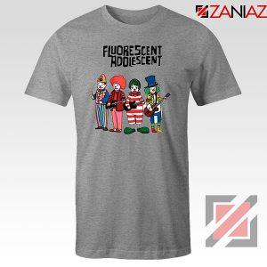 Fluorescent Adolescent Indie Band 21 Sport Grey Tshirt