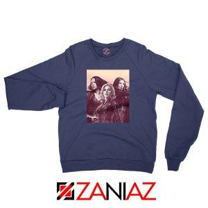 Girl Power Marvel Female Navy Blue Sweatshirt
