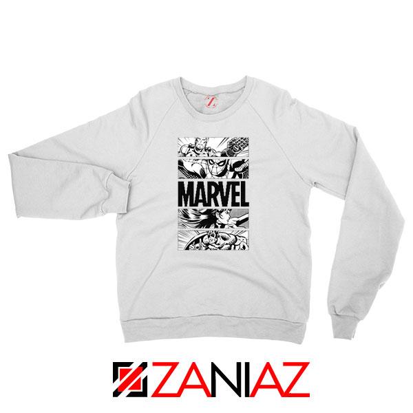 Marvel Superhero Panels Sweatshirt