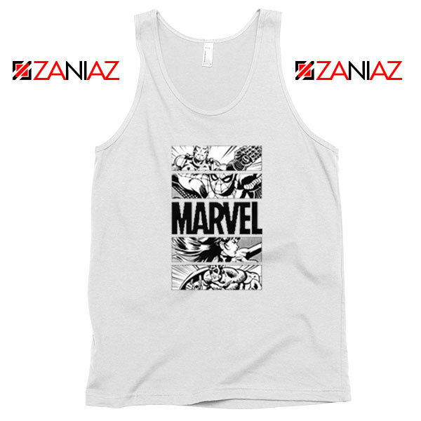 Marvel Superhero Panels Tank Top