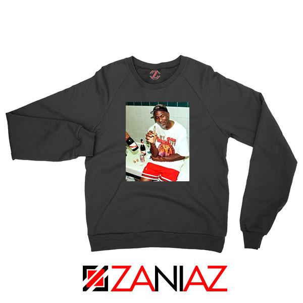 Michael Jordan Cigar 3 Peat Sweatshirt