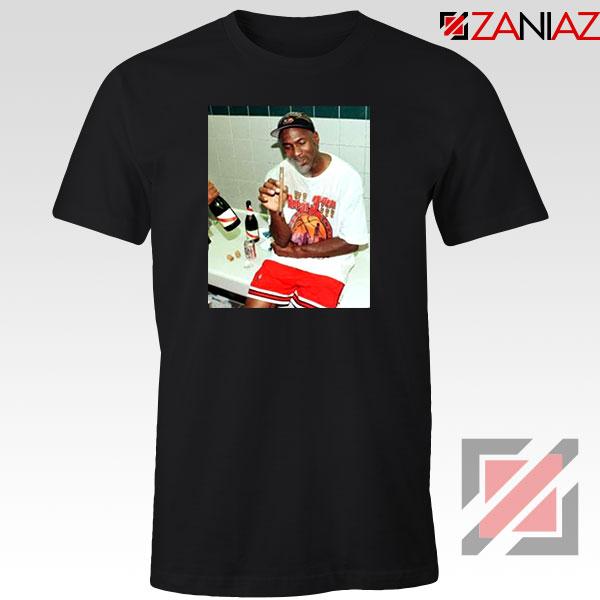 Michael Jordan Cigar 3 Peat Tshirt